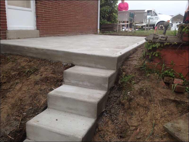 Concrete Amp Driveways Jj S Landscaping Inc