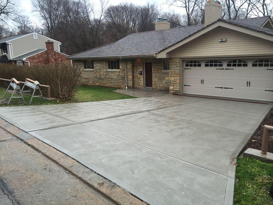 Concrete & Driveways – JJ's Landscaping Inc
